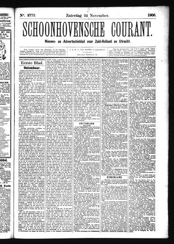 Schoonhovensche Courant 1906-11-24