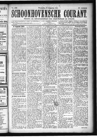 Schoonhovensche Courant 1923-08-29