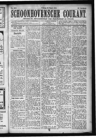 Schoonhovensche Courant 1923-03-30