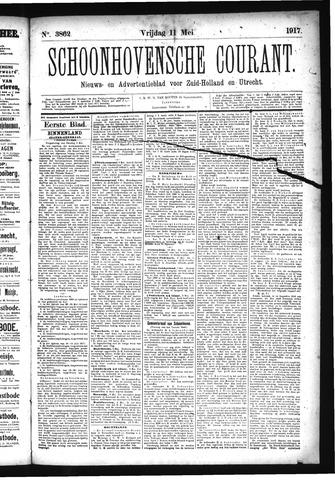 Schoonhovensche Courant 1917-05-11