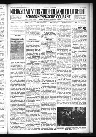 Schoonhovensche Courant 1932-02-10