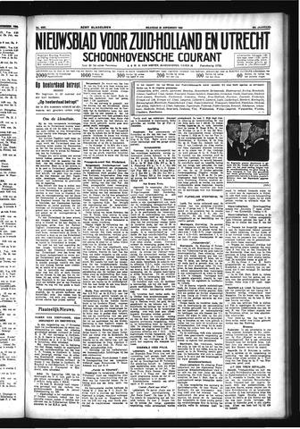 Schoonhovensche Courant 1933-11-20