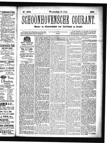 Schoonhovensche Courant 1899-07-19
