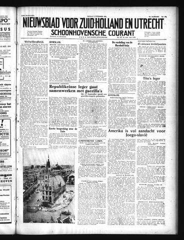 Schoonhovensche Courant 1949-09-02