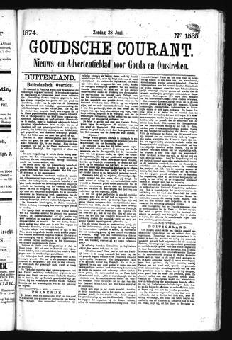 Goudsche Courant 1874-06-28