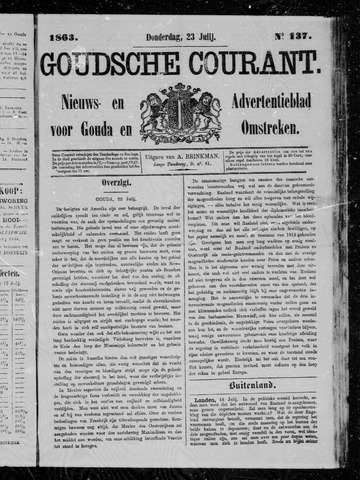 Goudsche Courant 1863-07-23