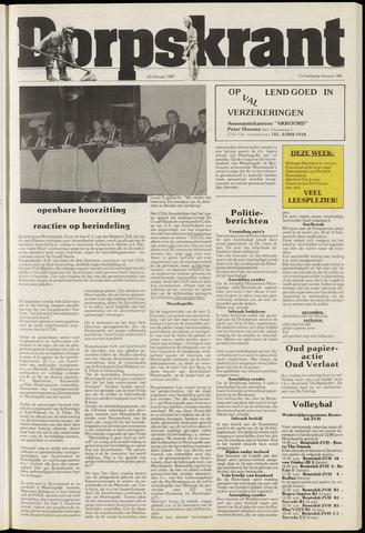 Dorpskrant 1989-02-22