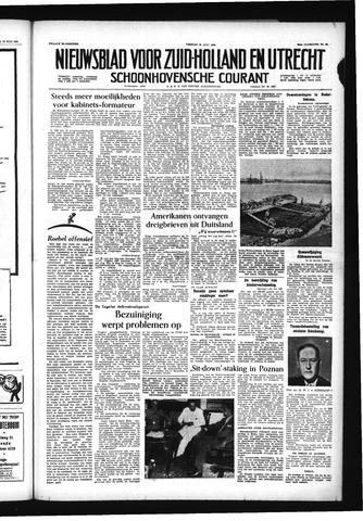 Schoonhovensche Courant 1956-07-20
