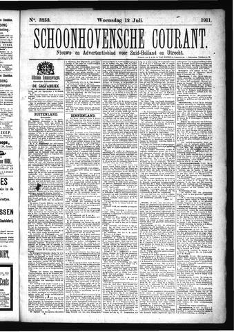 Schoonhovensche Courant 1911-07-12