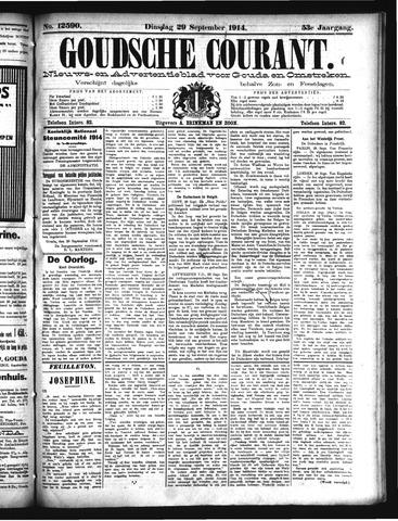 Goudsche Courant 1914-09-29