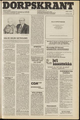 Dorpskrant 1984-02-22