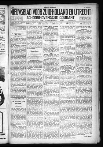 Schoonhovensche Courant 1930-10-01