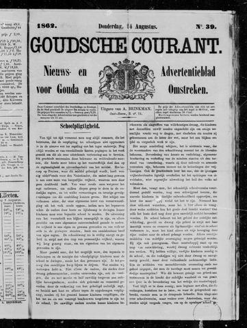 Goudsche Courant 1862-08-14