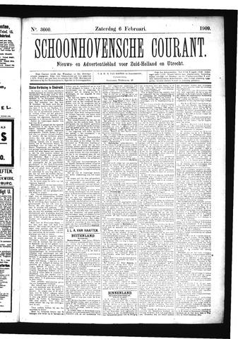 Schoonhovensche Courant 1909-02-06