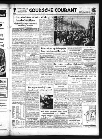 Goudsche Courant 1956-03-21