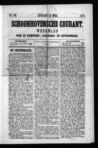 Schoonhovensche Courant 1871-05-14