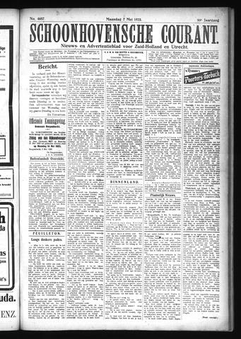 Schoonhovensche Courant 1923-05-07
