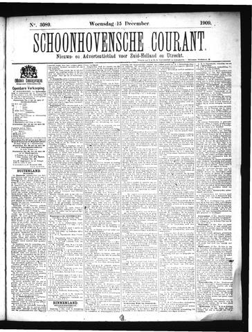 Schoonhovensche Courant 1909-12-15