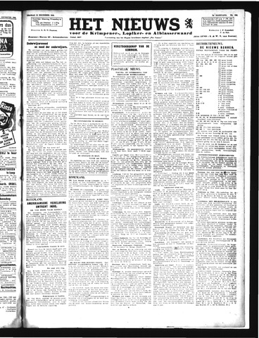 Schoonhovensche Courant 1945-12-21