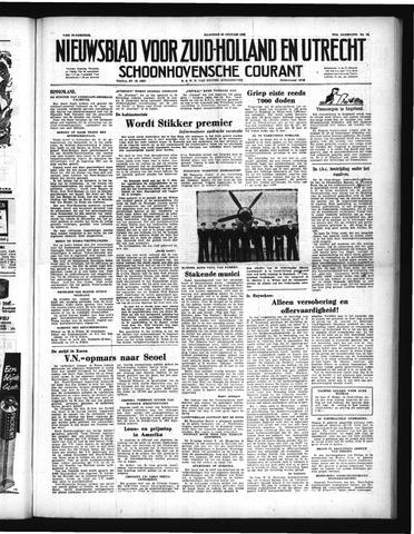 Schoonhovensche Courant 1951-01-29