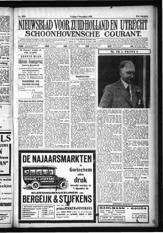 Schoonhovensche Courant 1928-11-09