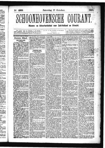 Schoonhovensche Courant 1908-10-17