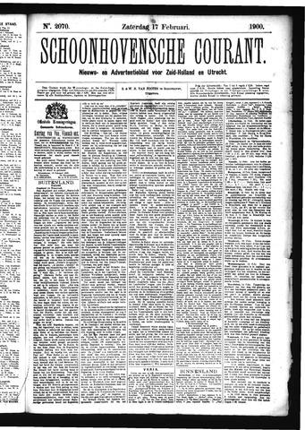 Schoonhovensche Courant 1900-02-17