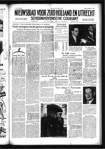 Schoonhovensche Courant 1958-12-03
