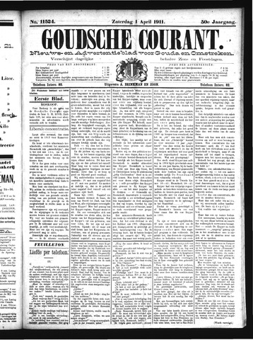 Goudsche Courant 1911-04-01