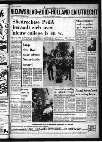 Schoonhovensche Courant 1974-08-05