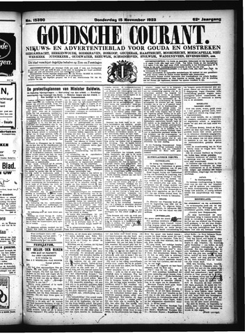 Goudsche Courant 1923-11-15