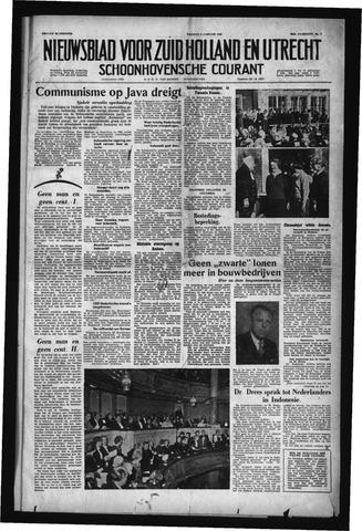 Schoonhovensche Courant 1958-01-03