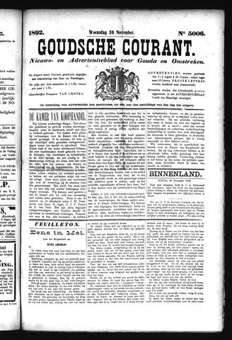 Goudsche Courant 1892-11-30