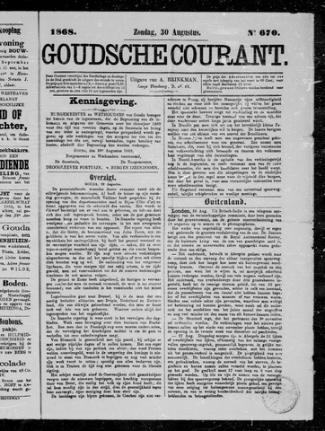 Goudsche Courant 1868-08-30