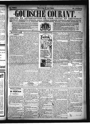 Goudsche Courant 1922-07-31