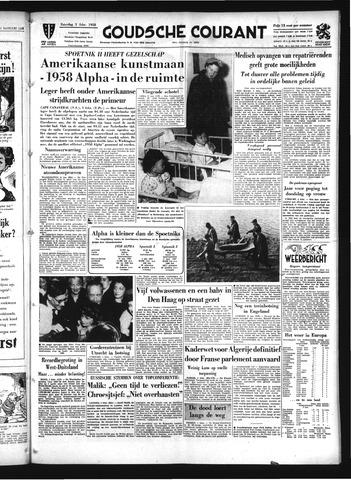 Goudsche Courant 1958-02-01