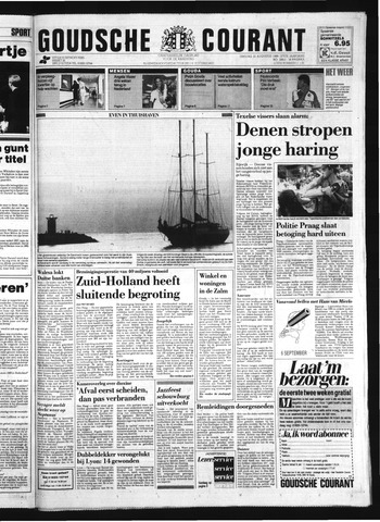 Goudsche Courant 1989-08-22