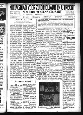 Schoonhovensche Courant 1934-03-09