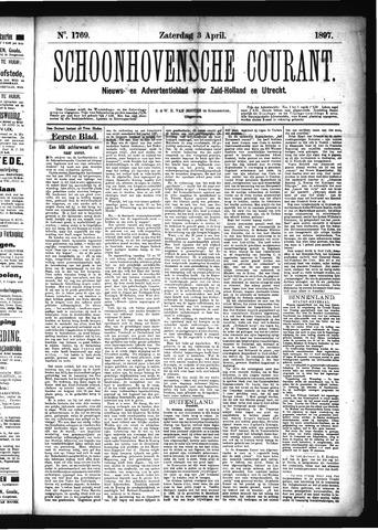 Schoonhovensche Courant 1897-04-03