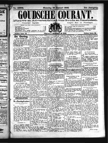 Goudsche Courant 1916-01-10