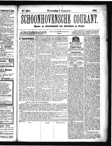 Schoonhovensche Courant 1899-08-09