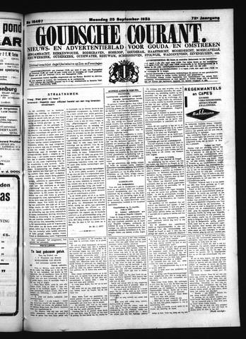 Goudsche Courant 1933-09-25