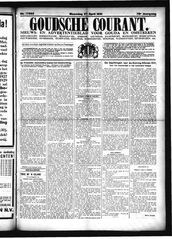Goudsche Courant 1931-04-27