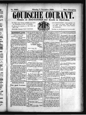 Goudsche Courant 1893-11-07