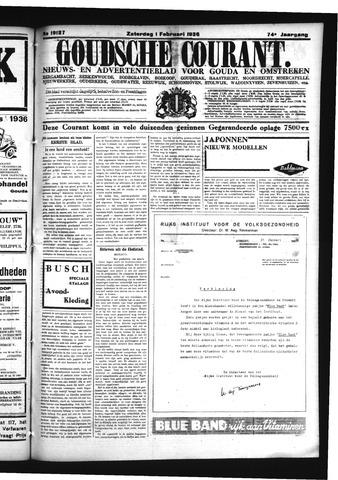 Goudsche Courant 1936-02-01
