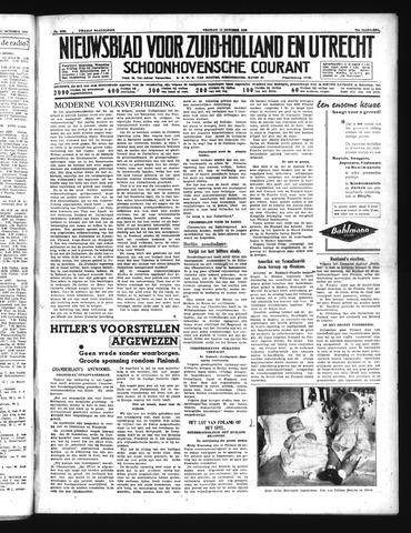 Schoonhovensche Courant 1939-10-13