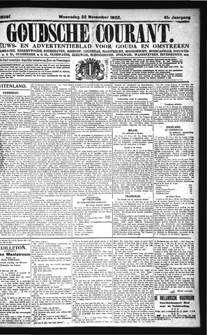 Goudsche Courant 1922-11-22