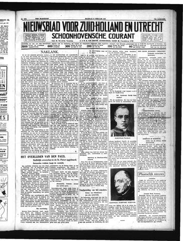 Schoonhovensche Courant 1939-02-13