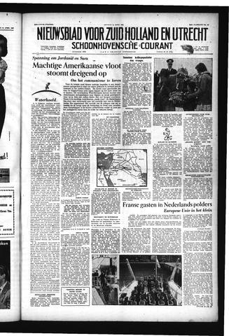 Schoonhovensche Courant 1957-04-26