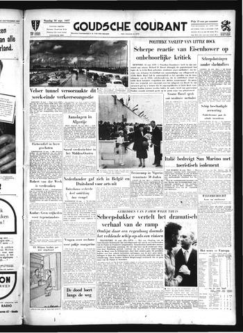 Goudsche Courant 1957-09-30